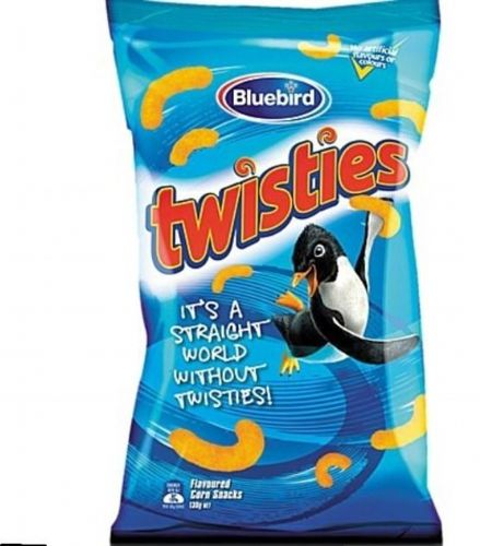 Bluebird Twisties (120g) ( New Zealand )